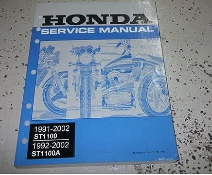 Honda 1997 ST1100//A Owner Manual 97