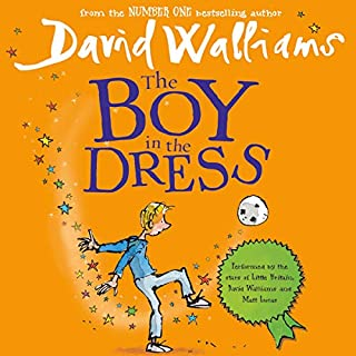 The Boy in the Dress                   Autor:                                                                                                                                 David Walliams                               Sprecher:                                                                                                                                 David Walliams,                                                                                        Matt Lucas                      Spieldauer: 2 Std. und 23 Min.     15 Bewertungen     Gesamt 4,9