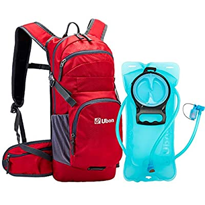 Amazon - 15% Off on Hiking Hydration Backpack Lightweight Water Pack 10L with 2L BPA Free Bladder for Running