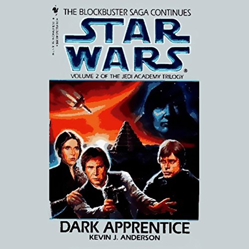 Star Wars: The Jedi Academy Trilogy, Volume 2: Dark Apprentice audiobook cover art