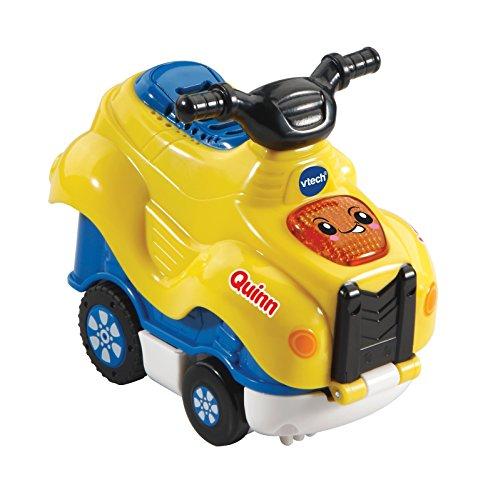 Vtech Toet Auto's Press & Go Quinn Quad für Kinder / Mädchen – Lernspiele (Mehrfarbig, Junge / Mädchen, 1,5, 5, aus Kunststoff)