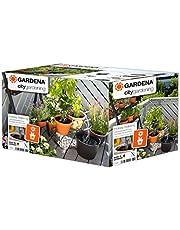 GARDENA city gardening semesterbevattning: Bevattningssats för inom- och utomhusbruk, anpassad bevattning för upp till 36 växter (1265-20)