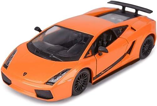 precioso YaPin Model Car 1 24 Lamborghini Gallardo Modelo Modelo Modelo de Coche Deportivo Simulación de Aleación de Coche Colección Modelo Adornos para Enviar Regalo de Cumpleaños Masculino 18x9.6x4.6 CM Modelo de Coche  Venta en línea precio bajo descuento