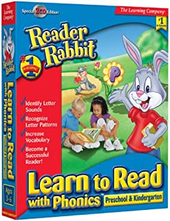reading software for kindergarten