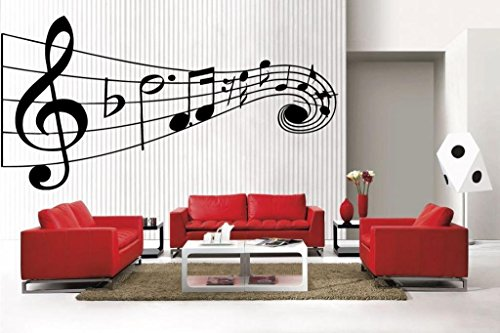 Newclew MUSIC Musical NOTES removable