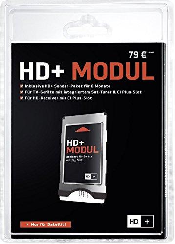 HD PLUS CI+ Modul für 6 Monate (inkl. HD+ Karte, bedingt geeignet für UHD, nur für Satellitenempfang)