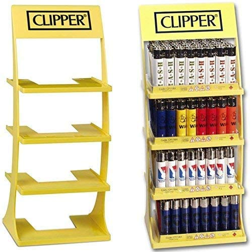 Expositor Clipper para 4 bandejas. Vacio.