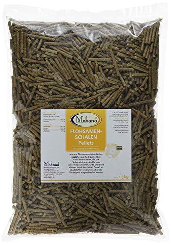 Makana Psyllium Blond Téguments Pellets, Sac de 1,5kg (1x 1,5kg)