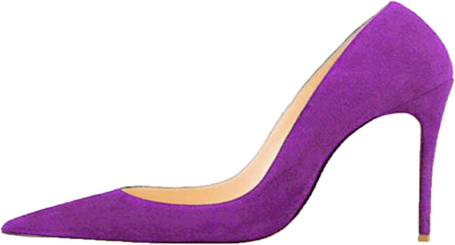 YP-fashion Heels Pointed Toe Sexy Women shoes 8 cm 10 cm 12 cm Pointed Shallow Valentine shoes