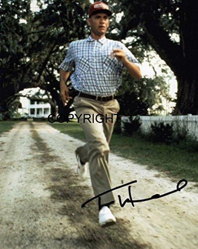 TOM Hanks Forrest Gump fotografia firmato edizione limitata + stampato Autograph