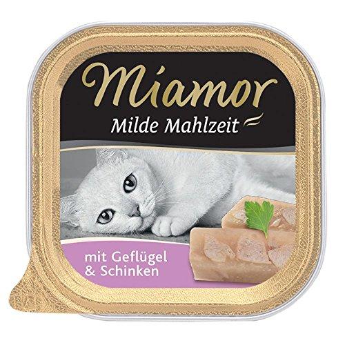 100g Miamor Mild Maaltijd - 9 + 3 Gratis! * - Met Kip & Rijst (12 x 100g)