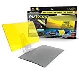 Bell + Howell TACVISOR for Day and Night, Anti-Glare Car Visor, UV-Filtering/Protection As