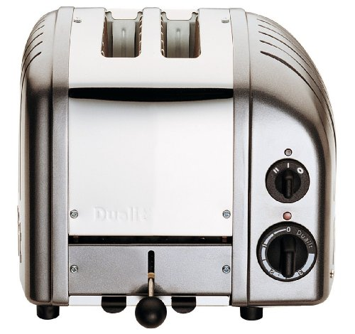 Dualit Classic 2-Slice Toaster, Charcoal