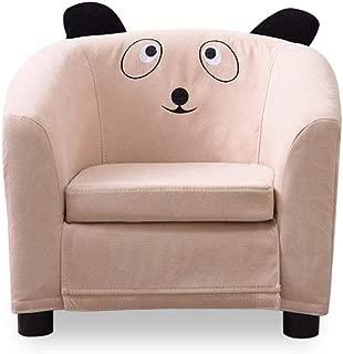 Cartoon Baby Single Sofa  Cotton and Linen Children s Sofa  Lazy Small Sofa Chair  Kindergarten School Chair A2 49 44cm
