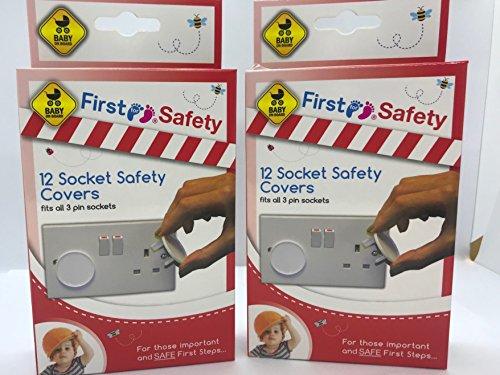 Lot de 24 cache-prises de sécurité pour bébé et enfant