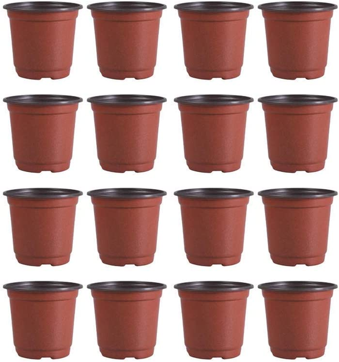 XYSQWZ Flower Pot Crackers 53pcs 100% Oakland Mall quality warranty Plant Plastic Flo Pots Nursery