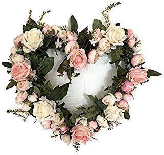 Best valentine heart shaped wreath Reviews