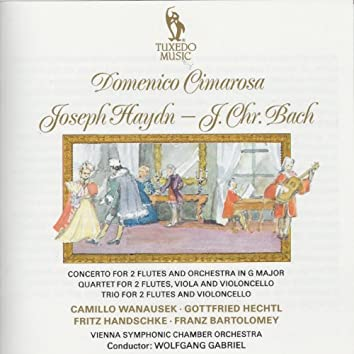 Cimarosa, Bach & Haydn: Various Concerto for Two Flutes