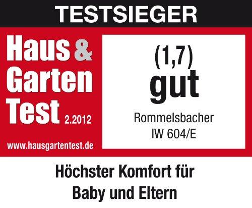 ROMMELSBACHER IW 604/E Wickeltisch-Heizstrahler Infrarotstrahler ohne Vorheizzeit schnell Bild 4*