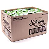 Splenda Naturals Stevia Zero Calorie Sweetener: No Calories, All Natural Sugar Substitute With No Bitter Aftertaste - Single Serve Granulated Packets (1000 Count)