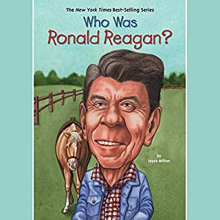Who Was Ronald Reagan? audiobook cover art