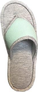 isotoner Women's Waffle Knit Helena Thong Slipper (Robins Egg, 8.5-9)