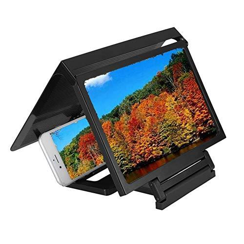 Eboxer Lupa de Pantalla del Teléfono, Lupa de Teléfono móvil 3D Video HD Amplificador de Pantalla de Alta definición, Ampliador de Pantalla para Personas Mayores, Niños, Amantes de Las Películas