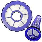 Spares2go - Set di filtri HEPA per aspirapolvere Dyson DC50 DC50i Animal Multi Floor