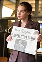 Superman Returns with Kate Bosworth as Lois Holding Paper 8 X 10 Inch Photo