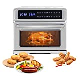 Electric Hot Air Fryers,11-in-1 Digital Air Fryer,Large 21.14 Quart 1700W Oven...