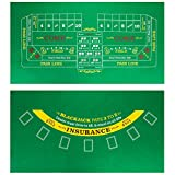 Brybelly Double-Sided Craps Table &...