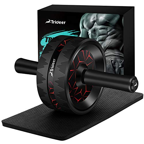 Trideer Ab Roller for Abs Workout, Ab Roller Wheel Exercise Equipment for Core Workout, Ab Wheel...