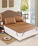 LIXIONG Foldable Thicken Schlafmatte Rattan Sommer Schlafmatten Bett-Matte Kühlung -Sommer Schlafmatten (größe : 79'x85'/200 * 215cm(6.6 ft))