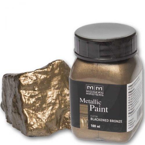 Dunkelbronze Metallic Paint 100ml Modern Masters Metalleffektfarbe Metallfarbe