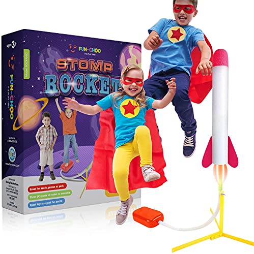 $2.98 Jumbo Rocket Launchers for Kids Clip the extra $3 off coupon and use promo code: 7054JJY4