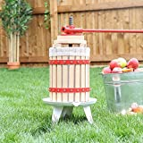 Wido 6/12/18 Litre Fruit Press Crusher Wine Making Tool Grape Cider Pear Apple Juice