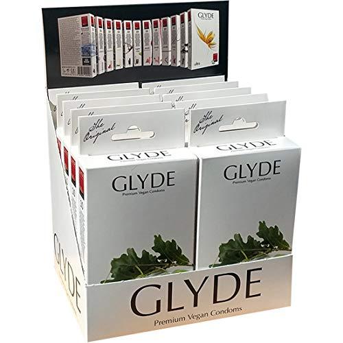 Glyde Ultra Supermax: 10 x 10 veganistische condooms (60 mm), speciale aanbieding!