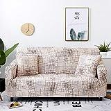 Funda de sofá elástica Estiramiento Tight Wrap Fundas de sofá Todo Incluido para Sala de Estar Funda de sofá Silla Funda de sofá A11 4 plazas