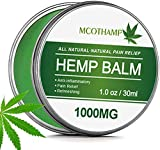 Hemp Salve for Pain Relief, Jane Choi 100% Natural Organic Hemp Ointment, Hemp