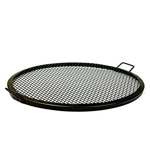 Walden Texas Tough BBQ Cooking Fire Pit Grilling Grate (36') - Outdoor Grilling - Fireplace Cooking - Cooking with Fire - Fire Grate (36-Inch Diameter)