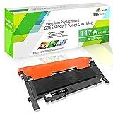 Cartucho de Tóner Compatible W2070A 117A Negro 1000 Páginas GREENPRINT para HP Color Laser 150a 150w 150nw MFP 178nw 178nwg 179fnw 179fwg con Chip