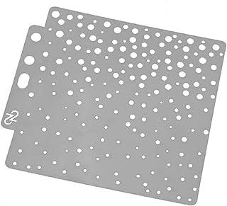 Hothap - Plantillas Redondas para Pintar (14 x 13 cm)