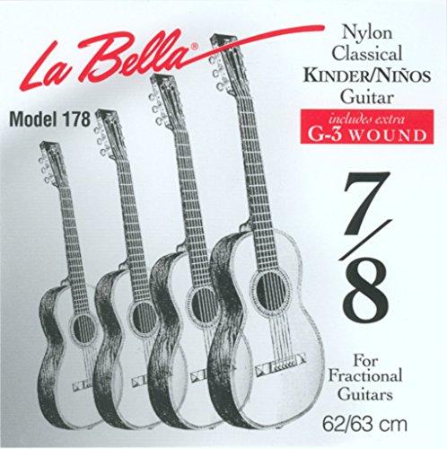 Labella FG178 snarenset voor klassieke gitaar, 62 cm 7/8