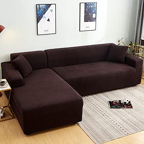 JYMDH High Stretch Cubre Sofá Form Fit Super Soft Cubierta...