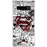 Skinit Clear Phone Case for Galaxy S10 - Officially Licensed Warner Bros Superman Comic Logo in Red Design