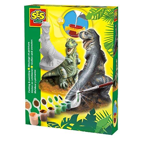 SES Moldea y Pinta T-Rex, Multicolor (01283)