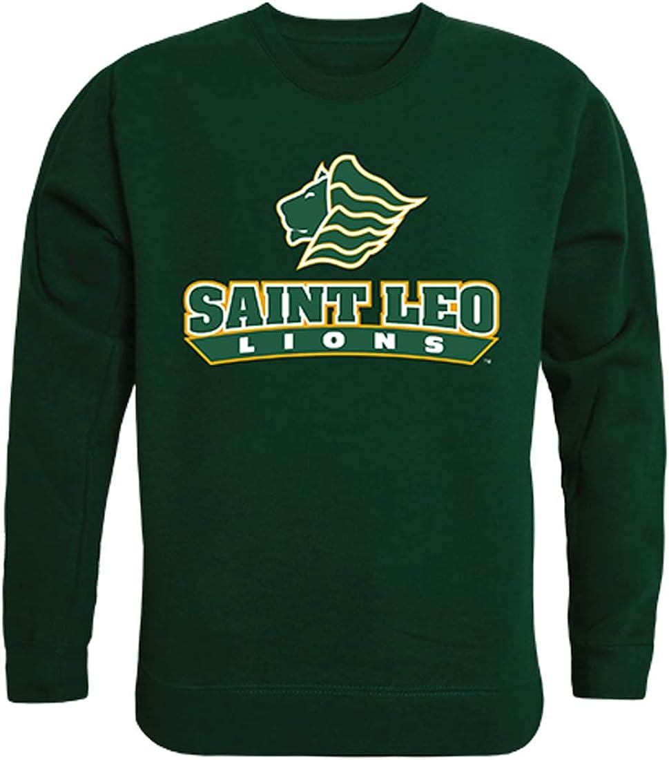 Saint Leo University Lions NCAA Campus Men's Tucson Mall Crewneck Quantity limited Fleece Swe