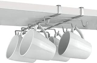 Metaltex MY-MUG Colgador de cocina para 10 tazas, color