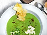Asparagus Soup with Sumac and Watercress