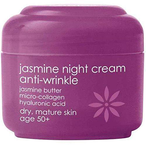 Jasmin-Butter Nachtcreme gegen Falten 50+